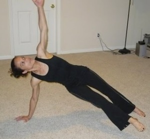 Balancing Star Plank